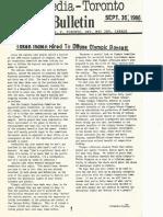 Ecomedia Toronto, No. 12, September 30, 1986