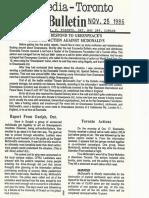 Ecomedia - Toronto, No. 13, November 25, 1986