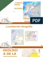 Presentación de Petgeologia de la cuanca CAGUAN - PUTUMAYO