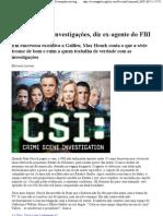CSI atrapalha investigação