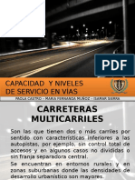 Carreteras Multicarril ISA