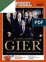 Der Spiegel Magazin No 43 Vom 22. Oktober 2016