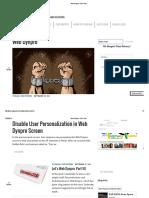 Web Dynpro – SAP Yard