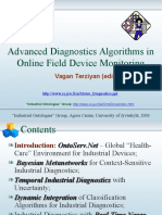 Advanced Diagnostics Algorithms in Online Field Device Monitoring