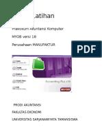 Modul Latihan Perusahaan Manufaktur v 18