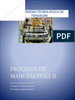 Manual Procesos de Manufactura II