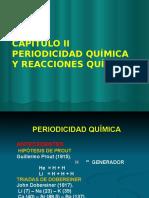 tabla periodica y reacciones quimicas