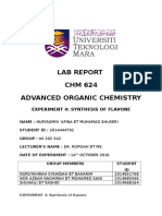 Experiment 4 Chm 624