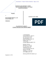 JPT v. Steve Madden - Markman Briefing