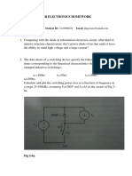 Introduction Homework(power Electronics)