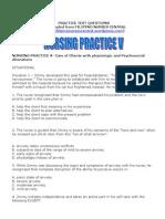 Nursing Practice V