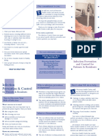 Infection Prevention Brochure