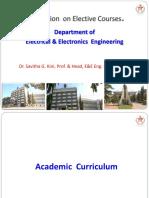 Orientation Electives 1