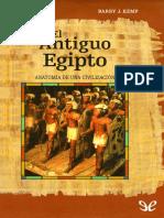 El Antiguo Egipto. Anatomia de Una Civilizacion - Kemp, Barry J.