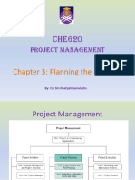Lecture Notes Chapter 3 CHE620 Project Management