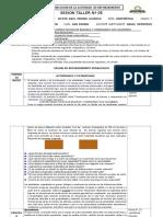SESION DE REFORZAMIENTO PEDAGOGICO N° 5