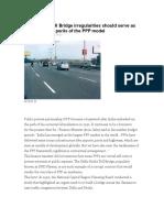 Delhi-Noida Toll Bridge Irregularities