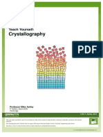 Teach Yourself Crystallography