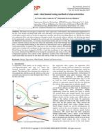 Design of supersonic wind tunnel using method of characteristics.pdf