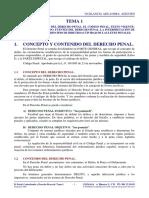 D. Penal, Contrabando y D. Procesal. Tema 01. 16-06-2015