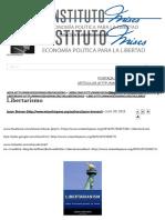 Libertarismo __ Instituto Mises