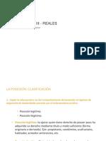 La Posesión, Adquisición, Clases, Clasificación - UCV-2016-II