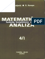 Matematička analiza- Funkcije kompleksne varijable - H. Kraljevic, S. Kurepa.pdf