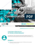 Licenciatura Ejecutiva en Ventas y Comercializacion - OCC Educacion