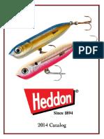 Heddon Catalog 2014
