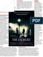 Exorcist Poster Analysis