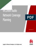 1 WCDMA Radio Network Coverage Planning
