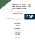 Practica2quimica General