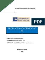 Producto Academico n 03 Psicometria