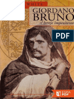 Giordano Bruno, El Hereje Impen - Michael White