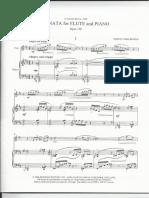 Edwin York Böwen Sonatina 1 Satz