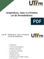 Cap 18 - Calor- Temperatura e a Primenra Lei Da Termodinamica