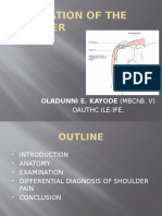 Examination of the Shoulder