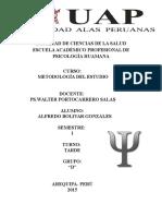 Facultad de Ciencias de La Salud Escuela Académico Profesional de Psicología Huamana