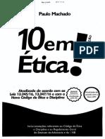 10 Em Etica - Paulo Machado - OAB 2016 - De Acordo Com o Novo CPC e o Novo Código de Ética Da OAB