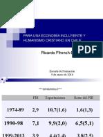 Economía Incluyente y Humanismo Cristiano 09.01