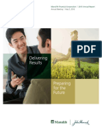 Manulife Financial Corporation 2015 Annual Report
