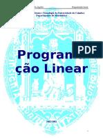 Programacao Linear