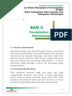 BAB 4 Pendekatan Dan Metodologi