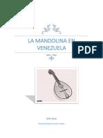 La Mandolina en Venezuela. Orlando Paredes