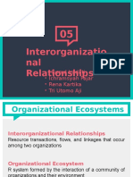 [SPO-Presentation Slide] Chapter 5 (Interorganizational Relationship)