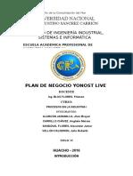 Yonost Live Corregido Completo
