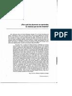 Como aprender a enseñar ciencias. La importancia pedagogica en la ciencia.pdf