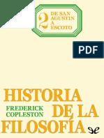 Historia de la filosofia- De San Agustín a Scoto. Frederick Copleston