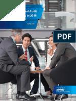 Top 10 Considerations Internal Audit 2015
