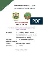 """""""SISTEMAS DEL TRACTOR"""